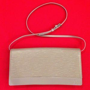 Authentic Louis Vuitton shoulder bags in lavender